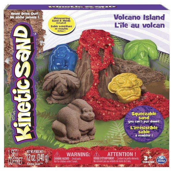 Spin Master Kinetic Sand Volcano Island Set