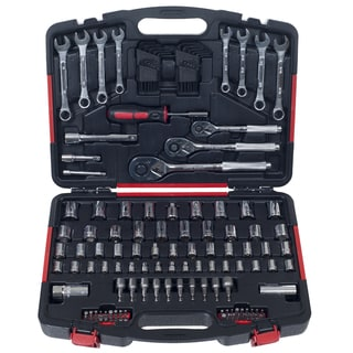 Stalwart 135-piece Mechanic Tools Socket Set