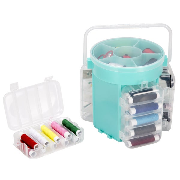 Everyday Home 210 Piece Sewing Kit Deluxe Caddy. Opens flyout.