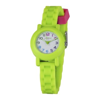 American Design Machine Kids Green Analog Watch