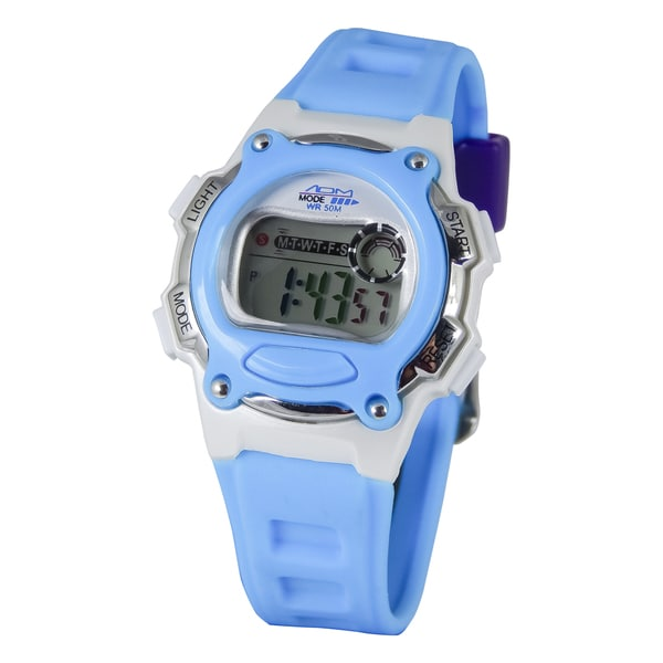 American Design Machine Kids Blue Madison Digital Watch