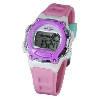 American Design Machine Kids Pink and Blue Digital Watch