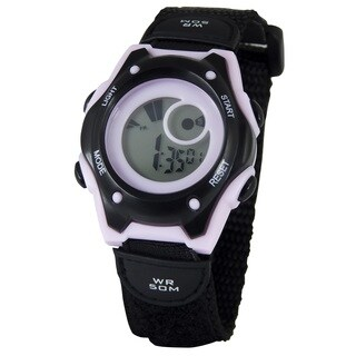 American Design Machine Kids Black Digital Watch