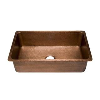 Kitchen Sink Copper Copper kitchen sinks for less overstock sinkology david undermount handmade copper sink 3125 luxury single bowl kitchen sink in antique copper workwithnaturefo