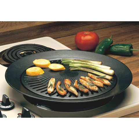 Black Smokeless Indoor Stovetop Barbecue Grill
