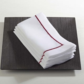 Embroidered Line Design Napkin (Set of 4)