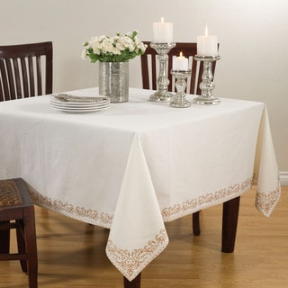 Scroll Bordered Design Tablecloth