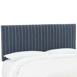 Skyline Furniture Fritz Indigo Upholstered Headboard