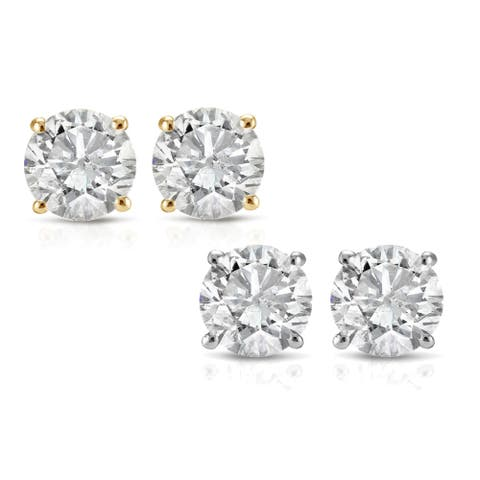 1f940cdae Buy Diamond Earrings Online at Overstock | Our Best Earrings Deals