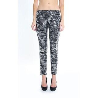 Siwy Women's 'Hannah' Skinny Crop Sequin Jean