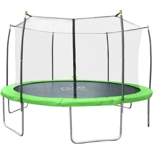 Pure Fun Dura-Bounce 12-foot Trampoline with Enclosure Net