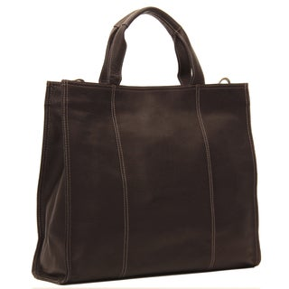 Piel Leather Carry-All Tote Bag