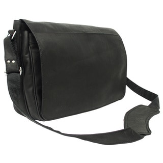 Piel Leather Traditional Messenger Bag