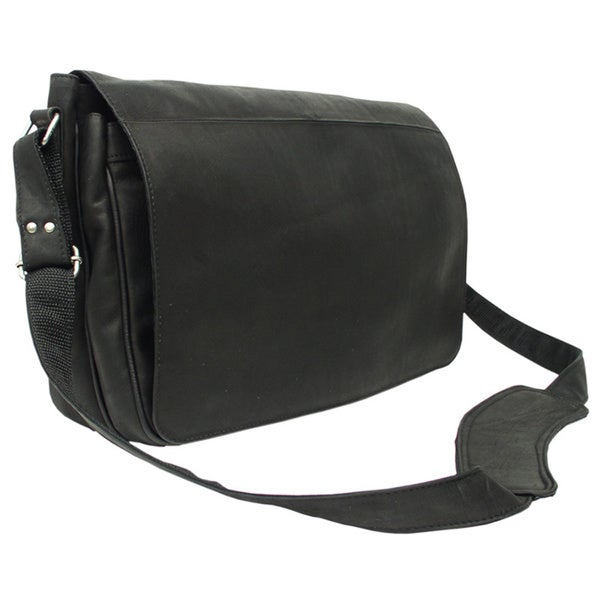 48c7349e62 Piel Leather Traditional Messenger Bag - Free Shipping Today .