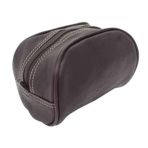 Piel Leather Cosmetic Travel Bag