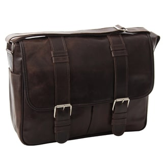 Piel Leather Vintage Everyday Messenger Bag