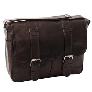 Piel Leather Vintage Everyday Messenger Bag