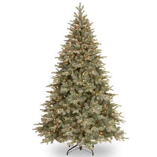 7.5-foot Frosted Arctic Spruce Tree with Clear Lights
