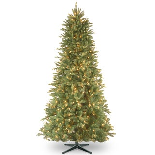7.5-foot PowerConnect Tiffany Fir Slim Tree with Clear Lights