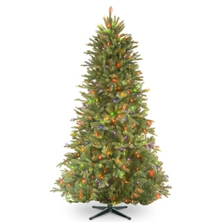5-foot PowerConnect Tiffany Fir Slim Tree with Multicolor Lights