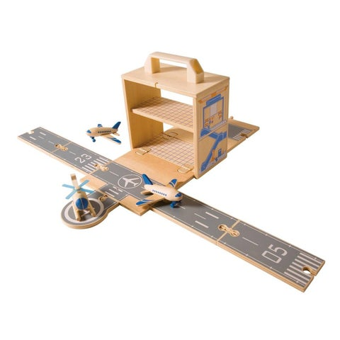 Diggin Active Airplanes Box Set - Beige/Grey