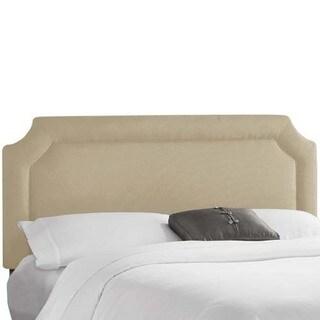 Skyline Furniture Klein Rice Paper Notched Headboard