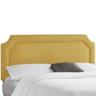 Skyline Furniture Klein Mustard Notched Headboard