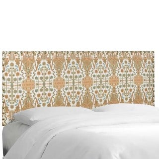 Skyline Furniture Bombay Mango Cotton Nail Button Border Headboard