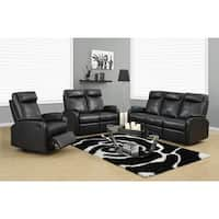 Reclining Loveseat Ivory Bonded Leather Free Shipping