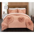 Chic Home Marissa Peach 7-piece Duvet Cover Set