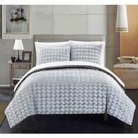 Chic Home Livadia Grey Queen 3-piece Comforter Set