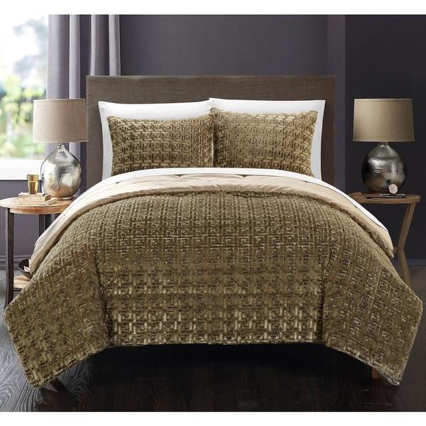 Chic Home Livadia Gold Queen 7-piece Comforter Set