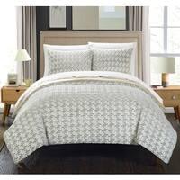 Chic Home Livadia Beige Queen 7-piece Comforter Set