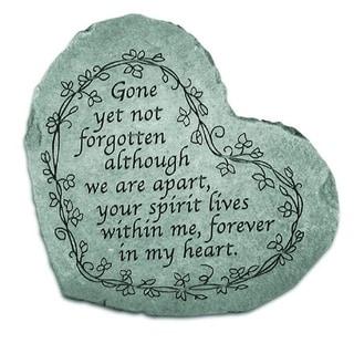 Handmade Gone Yet Not Forgotten Acccent Stone