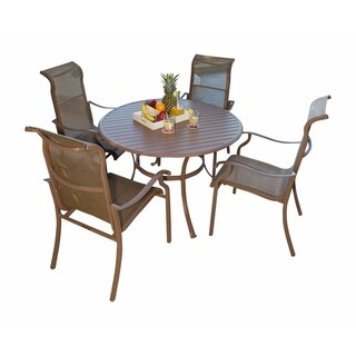 Panama Jack Island Breeze 5-piece Slatted Dining Group