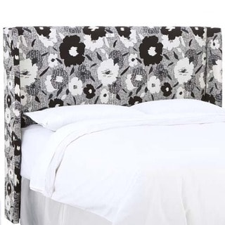 Skyline Furniture Carys Ink Wingback Headboard