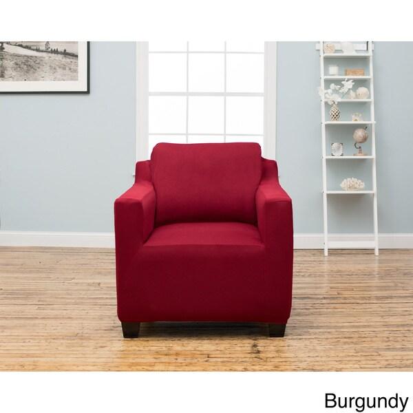 Home Fashion Designs Dawson Collection Twill Form Fit Chair ...