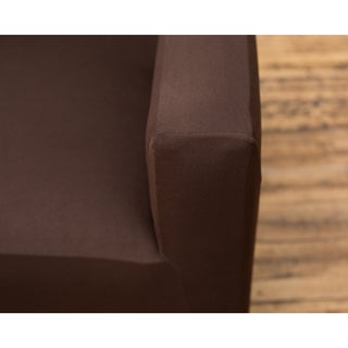 Home Fashion Designs Dawson Collection Twill Form Fit Sofa Protector Slip Cover