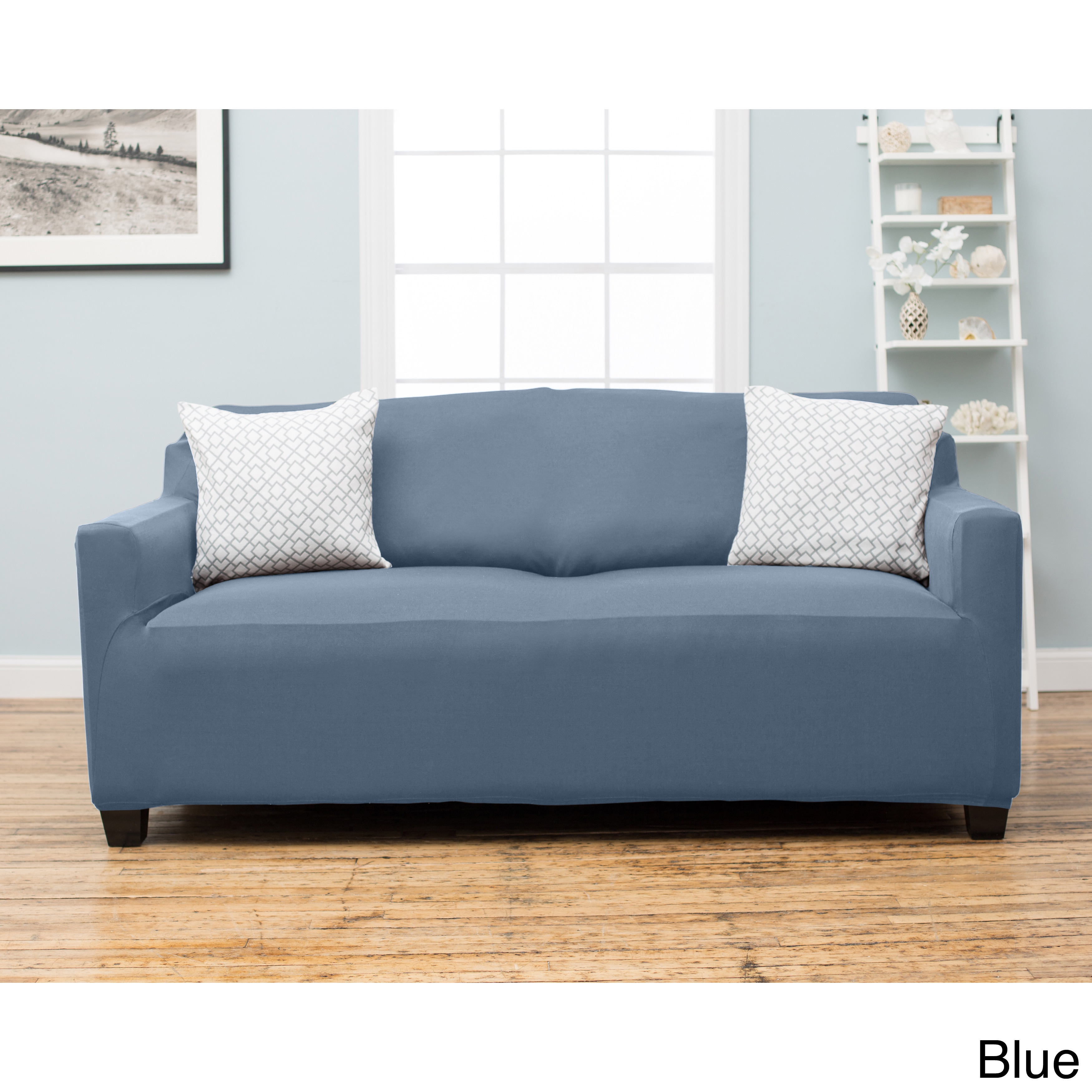 Home Fashion Designs Dawson Collection Twill Form Fit Sofa Slipcover