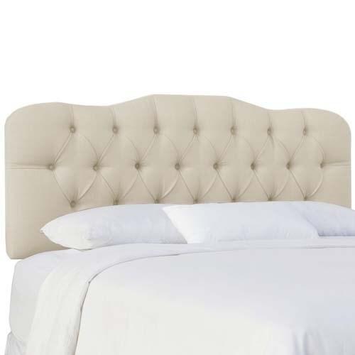 skyline furniture klein ivory tufted headboard  free shipping, Headboard designs
