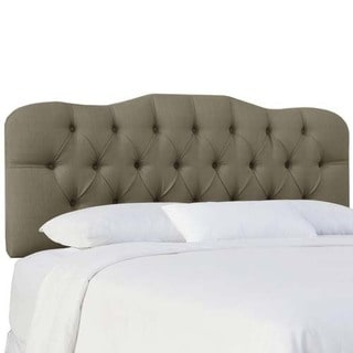 Skyline Furniture Klein Mouse Tufted Headboard