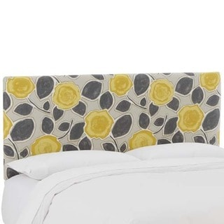 Skyline Furniture Beale Garden Citrine Upholstered Headboard