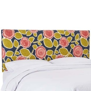 Skyline Furniture Beale Garden Poppy Upholstered Headboard