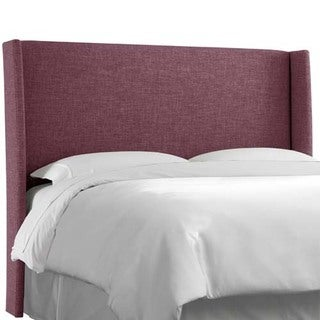 Skyline Furniture Zuma Amethyst Wingback Headboard