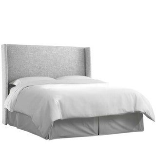 Skyline Furniture Zuma Pumice Wingback Headboard