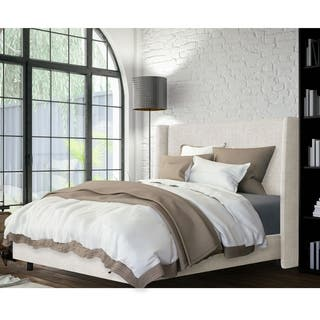 Wingback Bed in Zuma White- Skyline Furniture|https://ak1.ostkcdn.com/images/products/10898343/P17932008.jpg?impolicy=medium