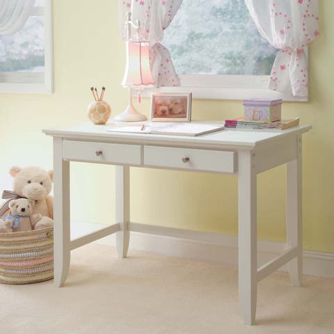 Naples White Student Desk by Home Styles