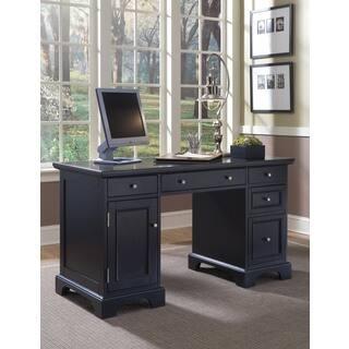 Bedford Black Pedestal Desk|https://ak1.ostkcdn.com/images/products/10898543/P17932205.jpg?impolicy=medium