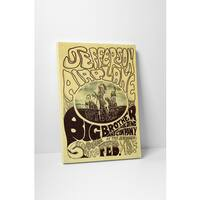 'Jefferson Airplane Stomp' Gallery Wrapped Canvas Wall Art
