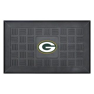 FANMATS NFL Green Bay Packers Medallion Door Mat